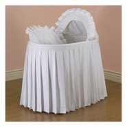 for your convenience look for bassinets that come complete with a bassinet liner bassinet skirts bassinet sheets and netting if you prefer - Bassinet Bedding