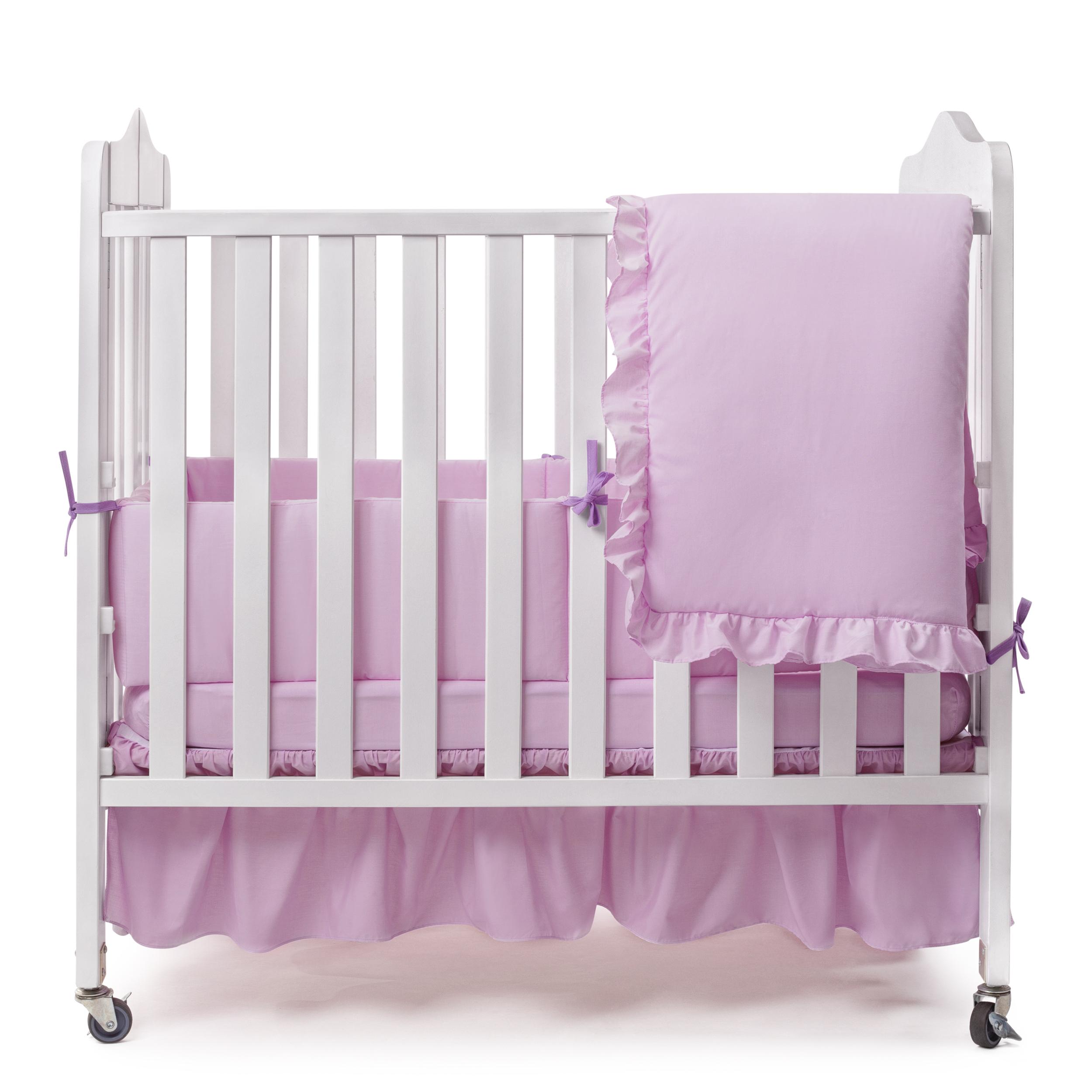 Solid Color Portable Crib Bedding Portable Crib Bedding Sets Ababy Com Lavender