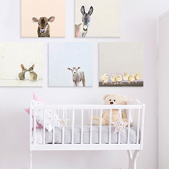 Kids Wall Art | Nursery Wall D�cor