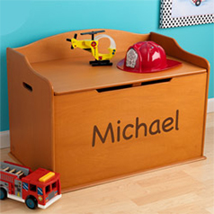 Personalized Kids Toy Boxes