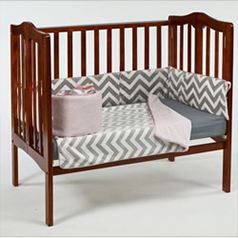Portable Crib Bedding