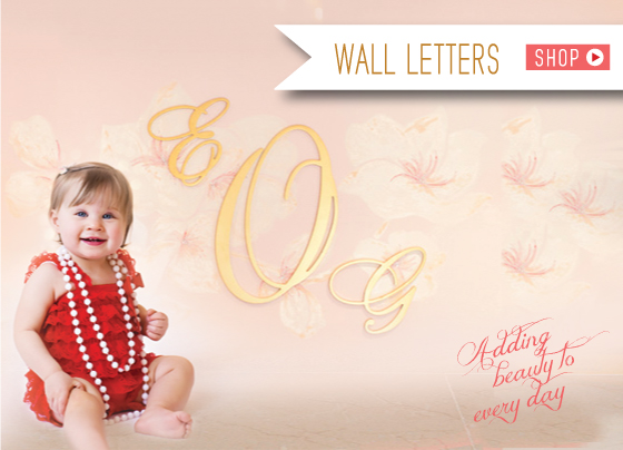 Wall Letters Holiday 2015