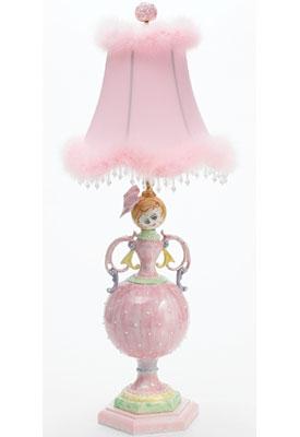Just Too Cute Jane Ellen Doll Lamp