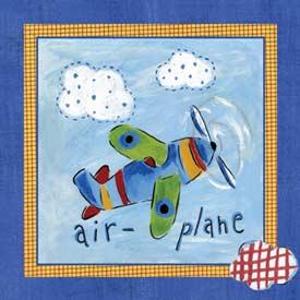 Art4Kids/Creative Images Go Man Go Airplane Art