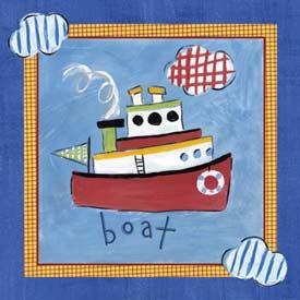 Go Man Go Boat Art