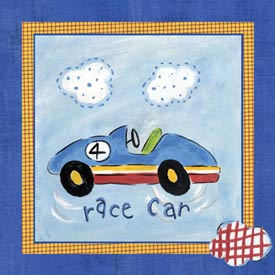 Art4Kids/Creative Images Go Man Go Race Car Art