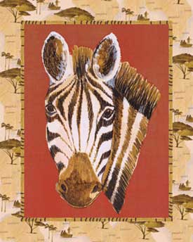 Art4Kids/Creative Images Out of Africa Zebra Print