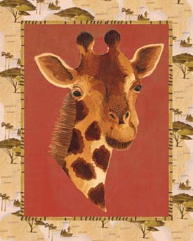 Art4Kids/Creative Images Out of Africa Giraffe Print
