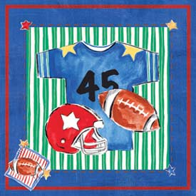 Art4Kids/Creative Images Football Jersey Wall Art