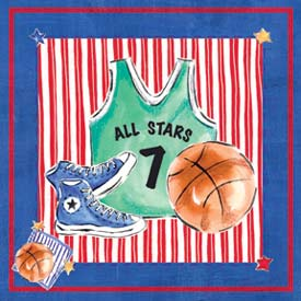 Art4Kids/Creative Images Basketball Jersey Wall Art