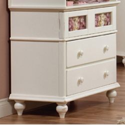 Natart Chelsea Three Drawer Dresser/Changer