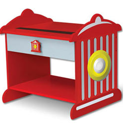 KidKraft Fire Hydrant Toddler Night Table