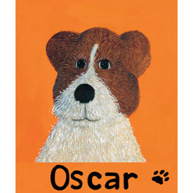 Oopsy Daisy/No Boundaries Oscar Mutt Canvas Art