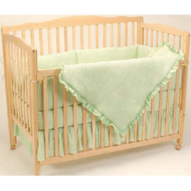 American Baby Company Deluxe Waffle Crib Bedding Set