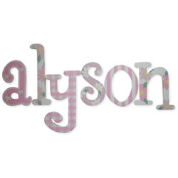 Alyson Whimsical Letters