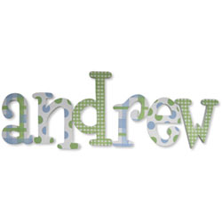 Andrew Patterns Letters