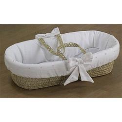 Baby Doll Pindot Moses Basket