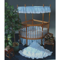 Baby Gear On Sale - Kid's Gear Online Soft Pique Corner Crib Bedding