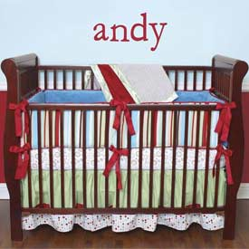 Caden Lane Andy Crib Sheet