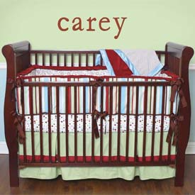 Caden Lane Carey Crib Sheet