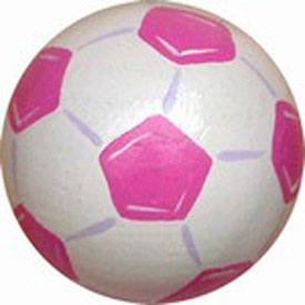 Girls Soccerball Knobs