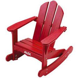 Childs Adirondack Rocking Chair