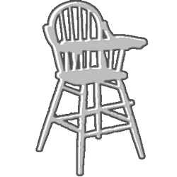 Design Your Own Bow Back High Chair
