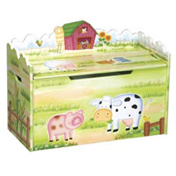 Little Farmhouse Toy Box