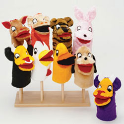 Guidecraft usa Puppet Stand