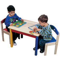 Guidecraft usa Moon and Stars Table and Chair Set