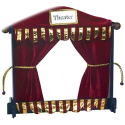 Guidecraft usa Royal Tabletop Puppet Theater