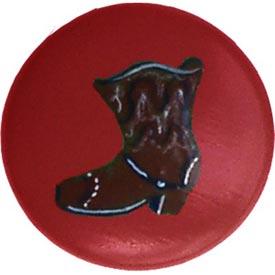 Cowboy Boot Knob