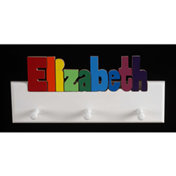 Personalized 12 Letter Coat Rack