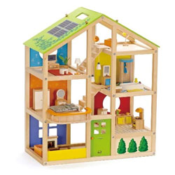 All Season Furnished Dollhouse