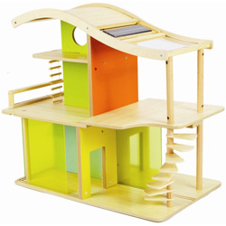 Bamboo Sunshine Unfurnished Dollhouse
