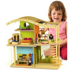 Bamboo Sunshine Furnished Dollhouse