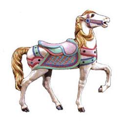 Corsican Carousel Horse