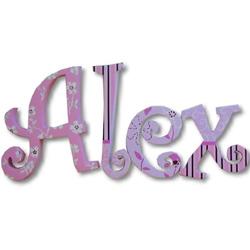 Alex's Garden Wall Letters