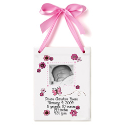 Photo Butterfly Birth Certificate