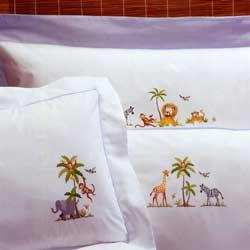Baby On Safari Pillow Case