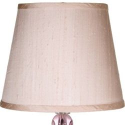 Crystal Ball Silk Shade