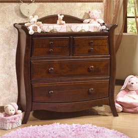 Natart Madison 3 Drawer Dresser/Changer