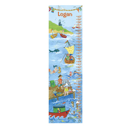 Oopsy Daisy/No Boundaries By The Sea Boy Growth Chart