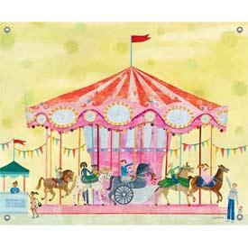 Oopsy Daisy/No Boundaries Carousel Canvas Art