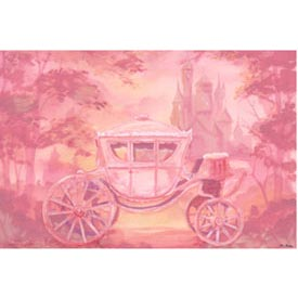 Oopsy Daisy/No Boundaries Carriage Stretched Art