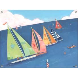 Sailing Regatta Wall Art