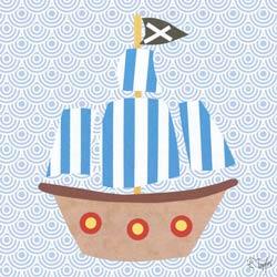 Collage Pirate Ship