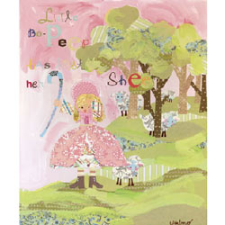 Oopsy Daisy/No Boundaries Little Bo Peep Stretched Art
