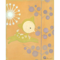 Oopsy Daisy/No Boundaries Lollipop Fawn Stretched Art