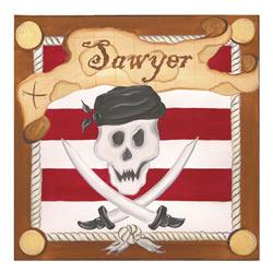 Pirate Stretched Art